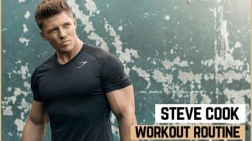 Steve Cook's Workout Routine & Diet