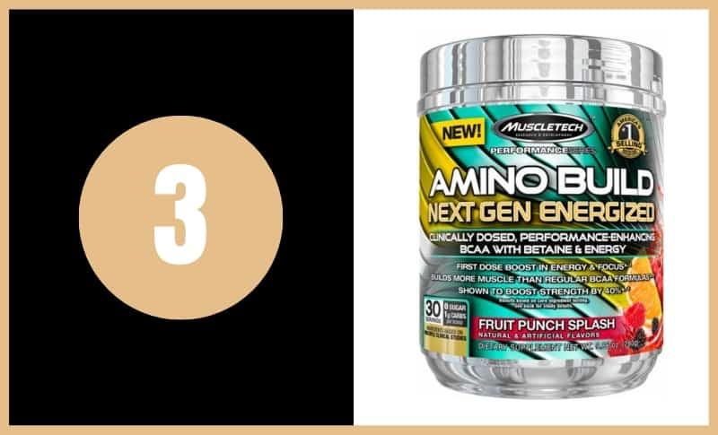 Best BCAA Supplements - Amino Build Next Gen Energize