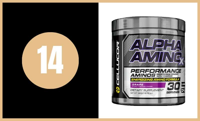 Best BCAA Supplements - Cellucor Alpha Amino