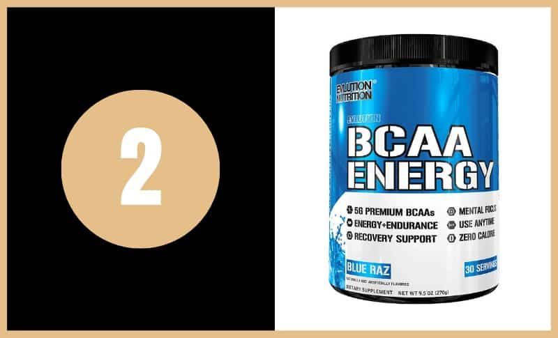 Best BCAA Supplements - Evlution Nutrition BCAA Energy