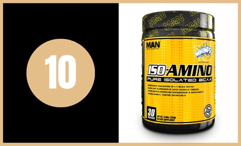 Best BCAA Supplements - Iso-Amino Pure Isolated BCAAs