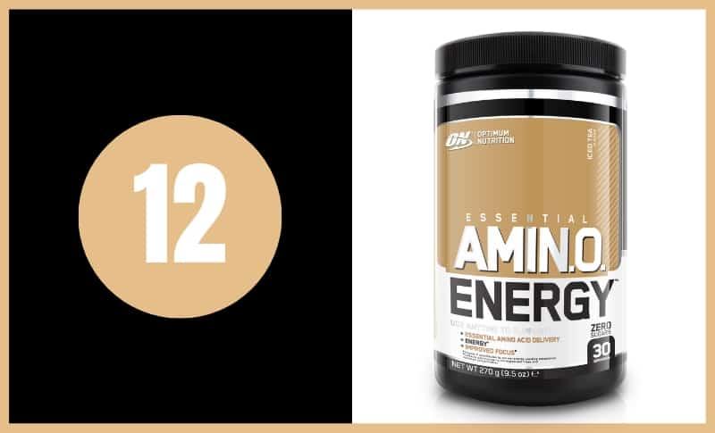 Best BCAA Supplements - Optimum Nutrition Amino Energy