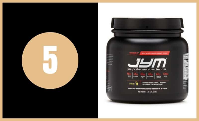 Best BCAA Supplements - Post JYM Active Matrix