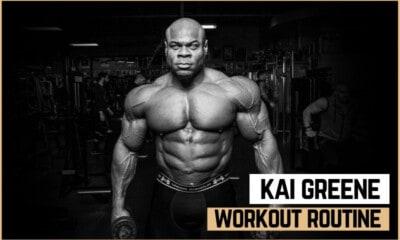 Kai Greene's Workout Routine and Diet