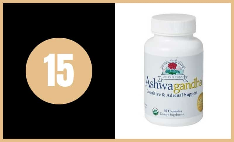 Best Ashwagandha Supplements - Ayush Herbs Ashwagandha
