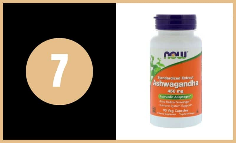 Best Ashwagandha Supplements - NOW Foods Ashwagandha