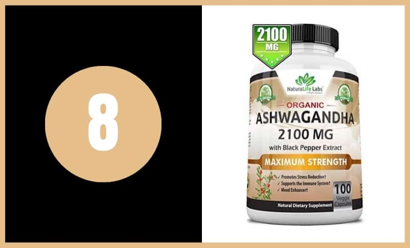 Best Ashwagandha Supplements - NaturaLife Labs Organic Ashwagandha