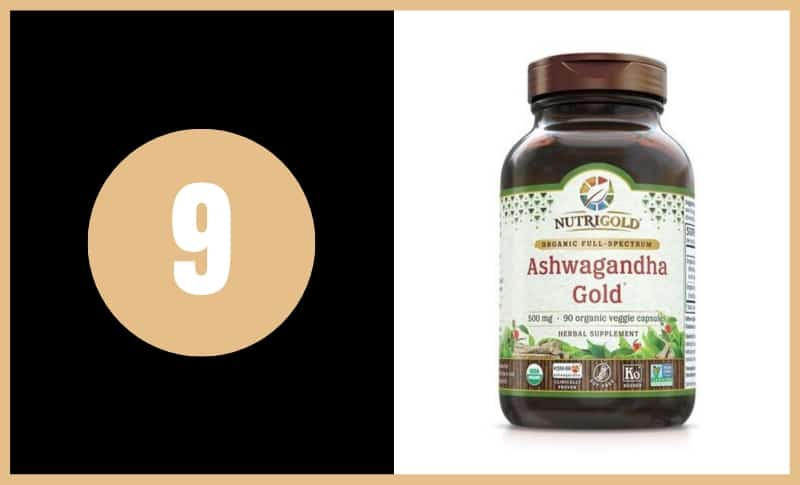 Best Ashwagandha Supplements - NutriGold Ashwagandha