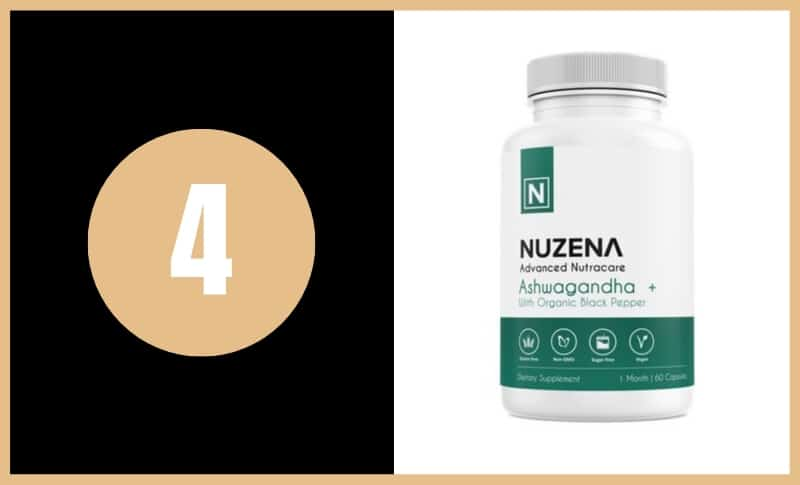 Best Ashwagandha Supplements - Organic Ashwagandha by Nuzena