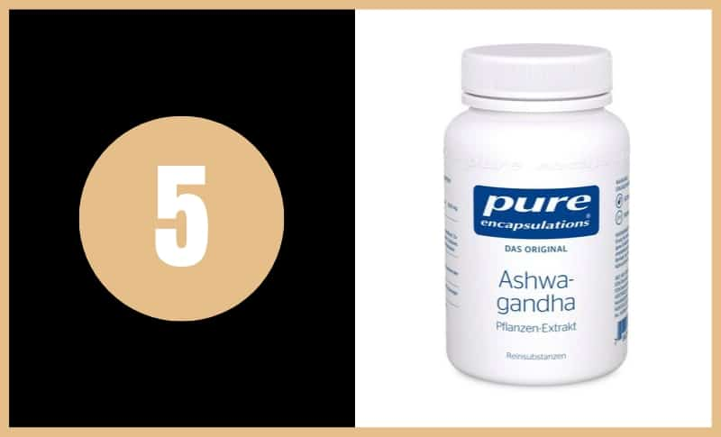 Best Ashwagandha Supplements - Pure Encapsulations Ashwagandha