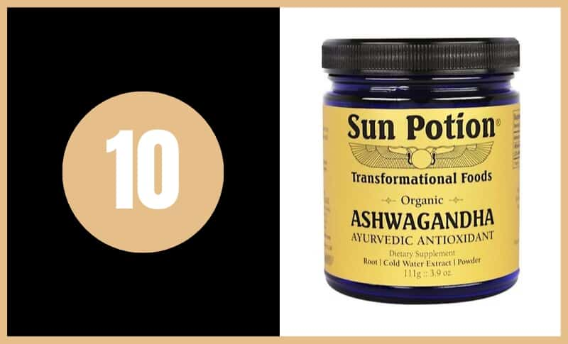 Best Ashwagandha Supplements - Sun Potion Ashwagandha