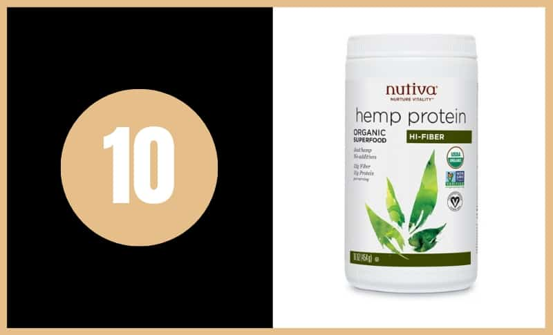 Best Fiber Supplements - Nutiva Hemp Protein