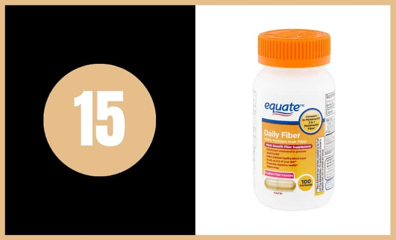 Best Fiber Supplements - Equate Daily Fiber