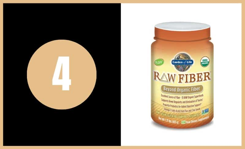Best Fiber Supplements - Garden of Life Raw Fiber