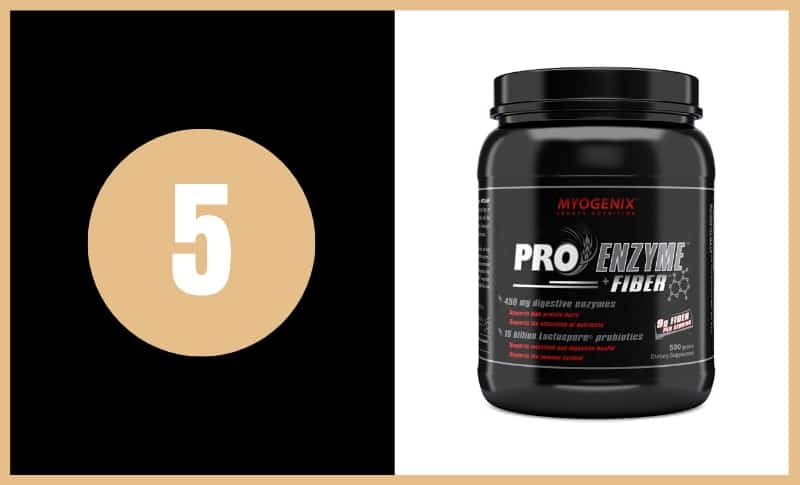 Best Fiber Supplements - Myogenix Pro Enzyme Fiber