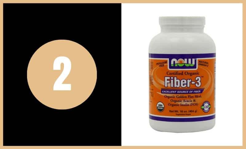 Best Fiber Supplements - Now Fiber-3