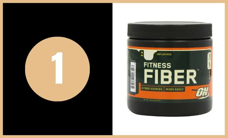 Best Fiber Supplements - Optimum Nutrition Fitness Fiber