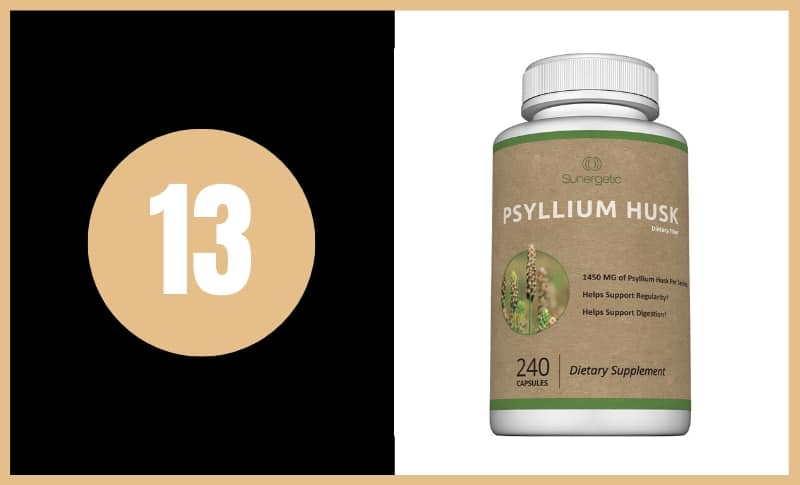 Best Fiber Supplements - Sungetic Physllium Husk