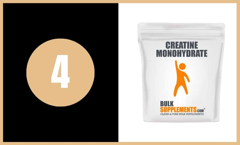Best Creatine Supplements - Bulk Supplements Creatine Monohydrate