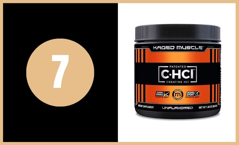 Best Creatine Supplements - Kaged Muscle Creatine HCL