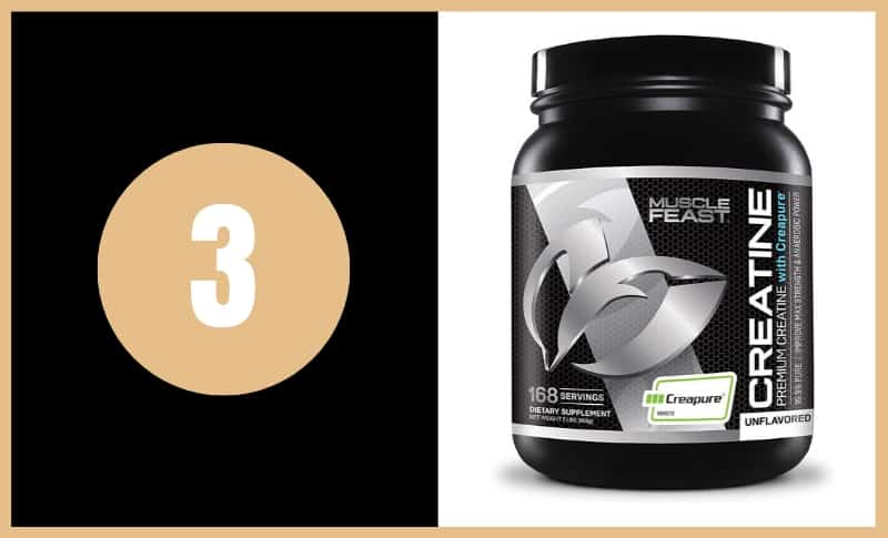 Best Creatine Supplements - Muscle Feast Creapure