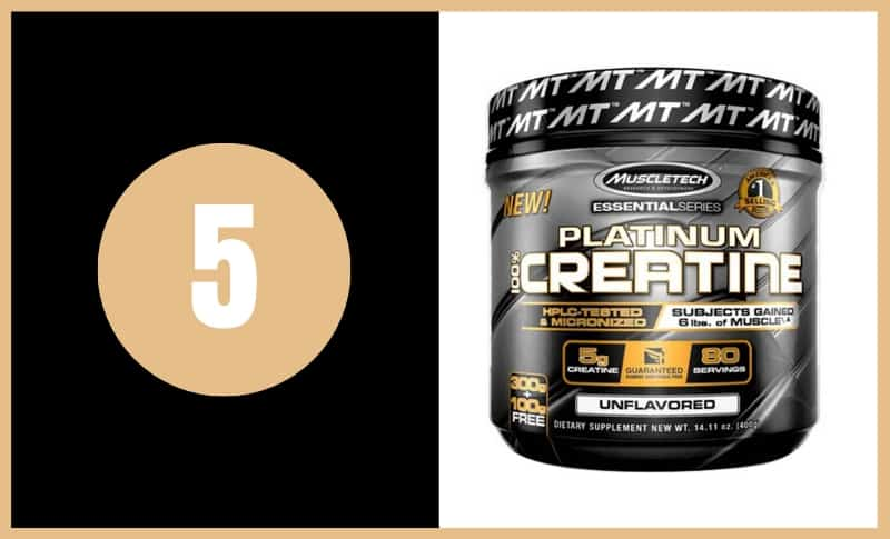 Best Creatine Supplements - Muscle Tech Platinum Creatine