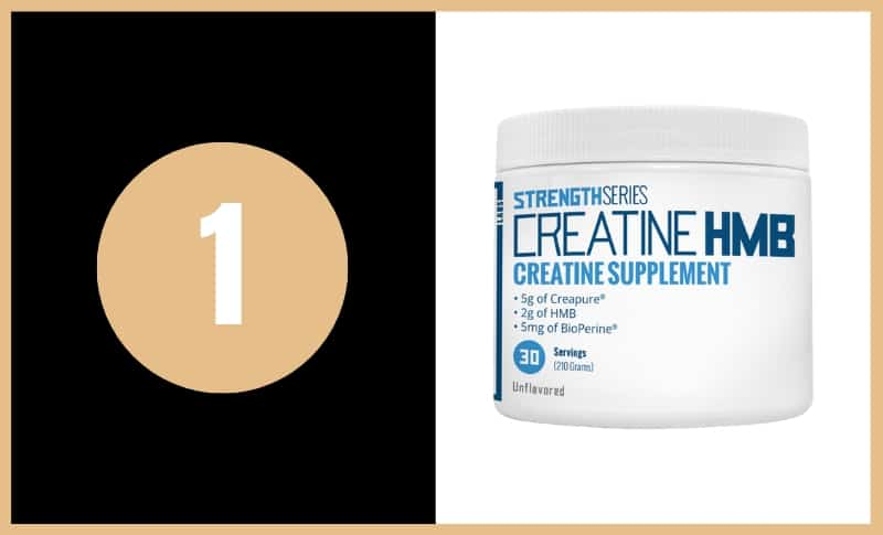 Best Creatine Supplements - Strength Series Creatine HMB
