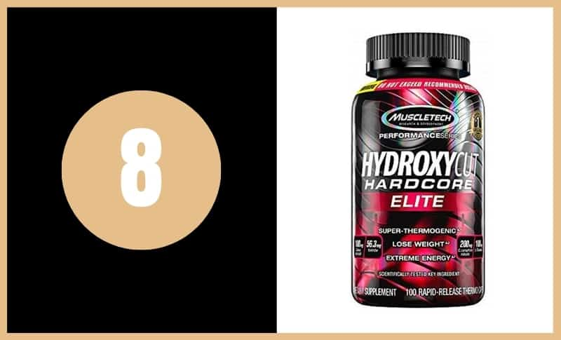 Best Fat Burners - MuscleTech Hydroxycut Elite