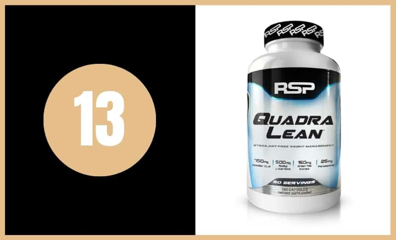 Best Fat Burners - RSP Quadra Lean