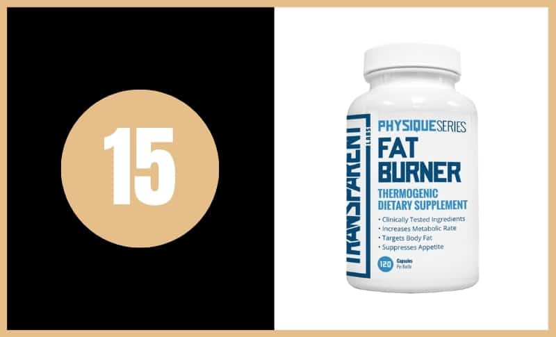Best Fat Burners - Transparent Labs Physique Series