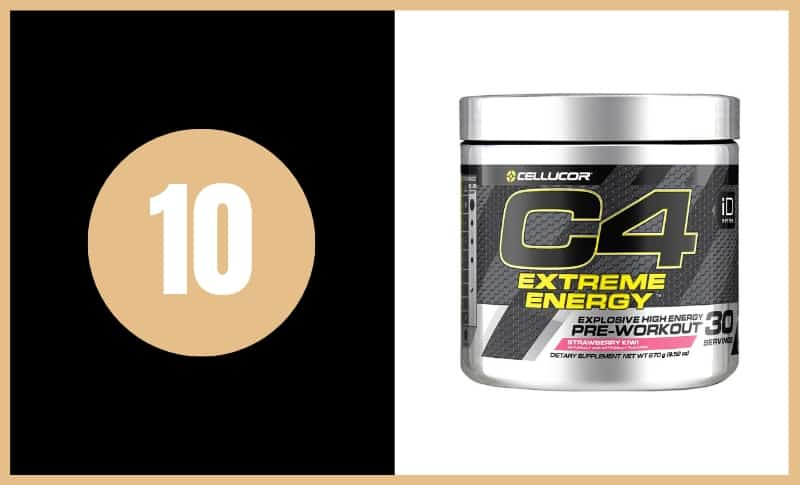 Best Pre Workout Supplements - Cellucor C4