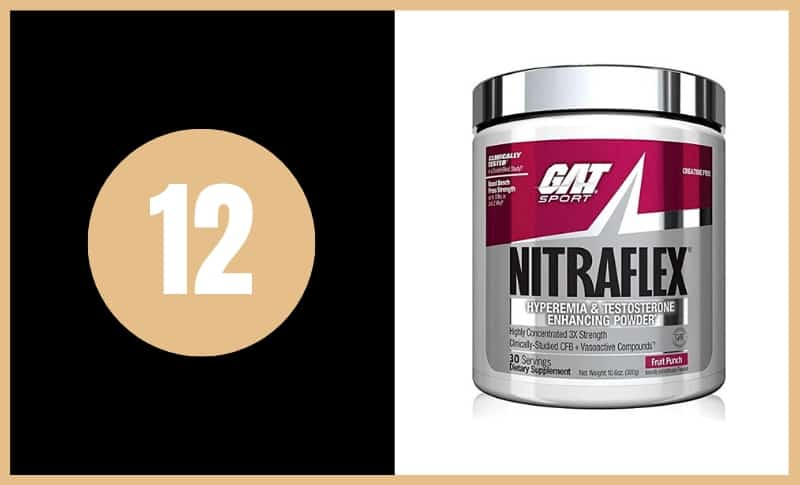 Best Pre Workout Supplements - GAT Nitraflex