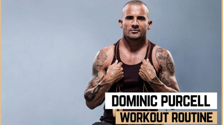 Dominic Purcell's Workout Routine and Diet