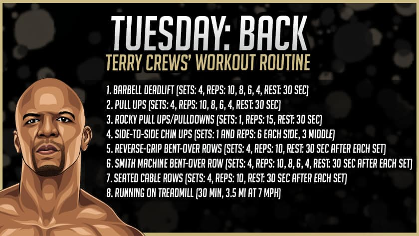 Terry Crews' Back Workout Routine
