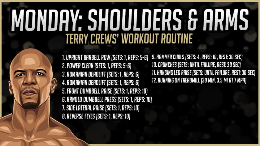 Terry Crews' Shoulder Workout Routine