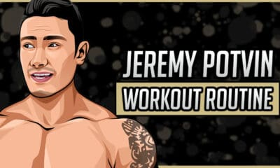 Jeremy Potvin's Workout Routine & Diet