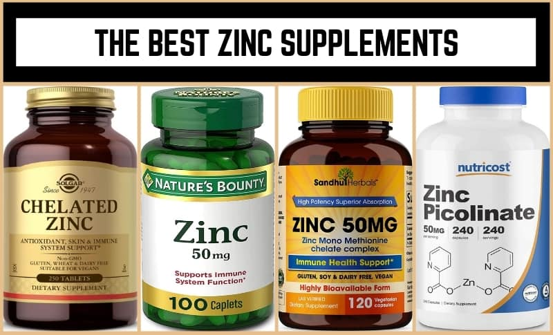 The Best Zinc Supplements