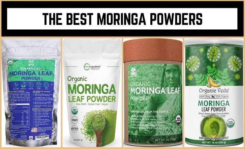 The Best Moringa Powders