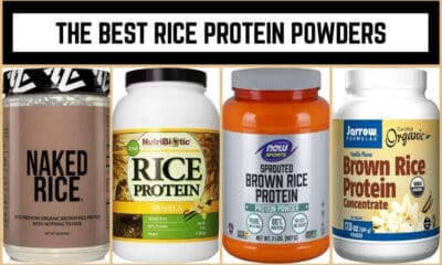 The Best Rice Protein Powders