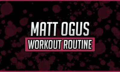 Matt Ogus' Workout Routine