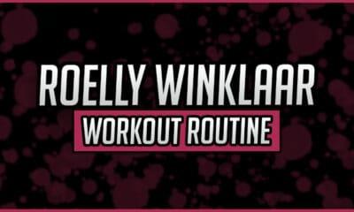 Roelly Winklaar's Workout Routine