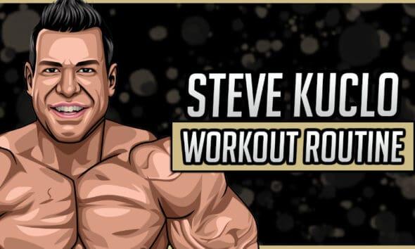 Steve Kuclo Workout Routine