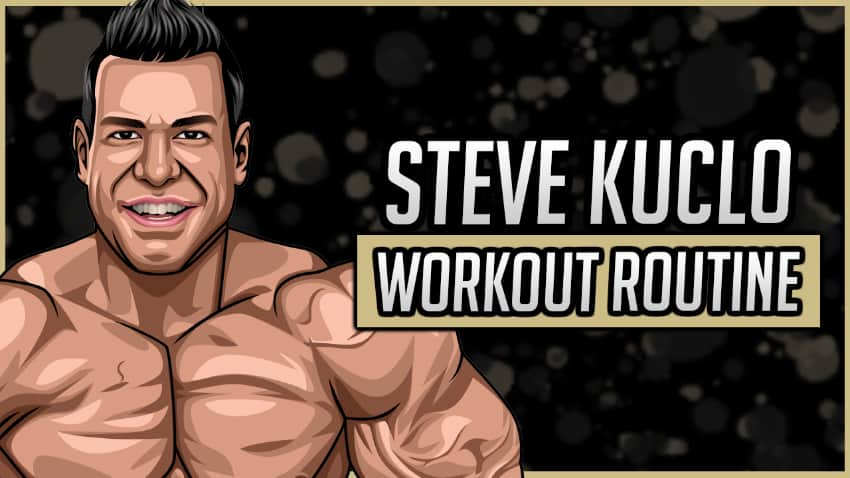 Steve Kuclo Workout Routine