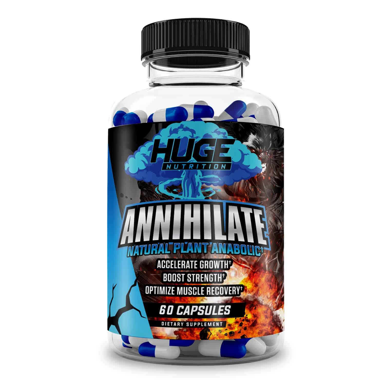 Annihilate Laxogenin Supplement (60 Servings)