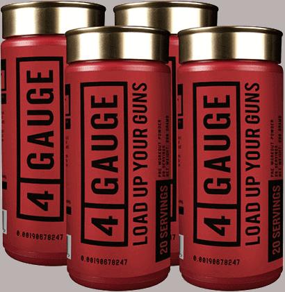 4 Gauge Pre-Workout Supplement (1 Shell)