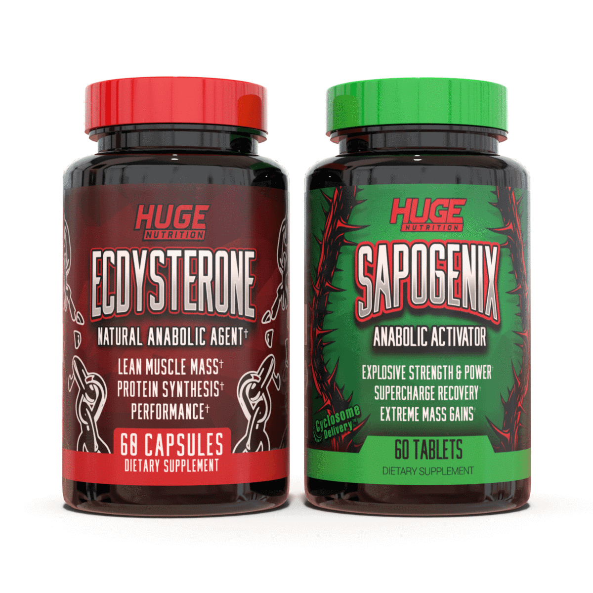 Advanced Anabolic Stack (Ecdysterone & Sapogenix)