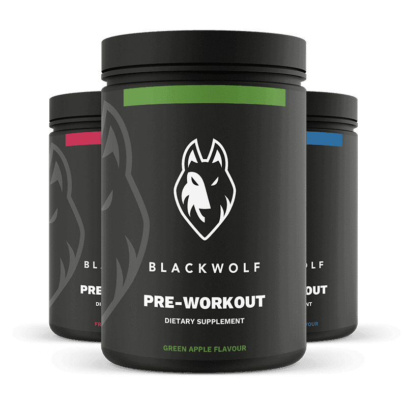 BlackWolf Pre-Workout Formula (22 Servings)