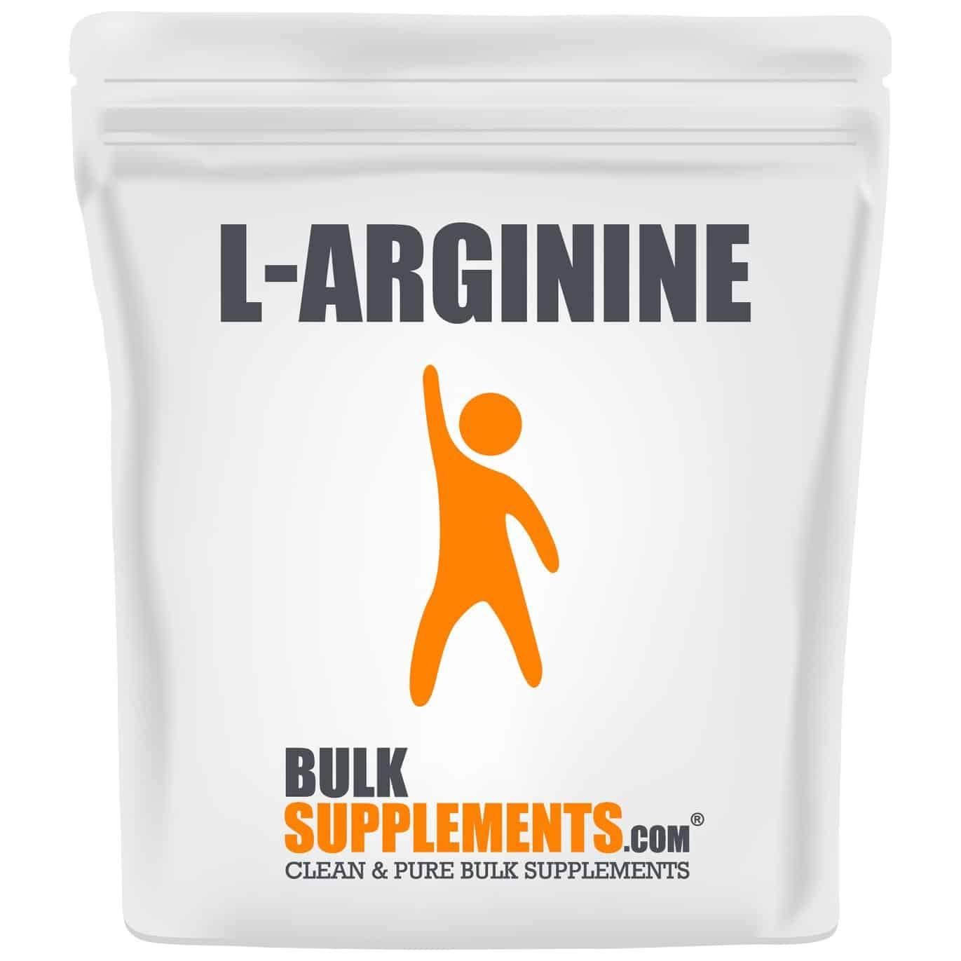 BulkSupplements L-Arginine Powder (250 Grams)