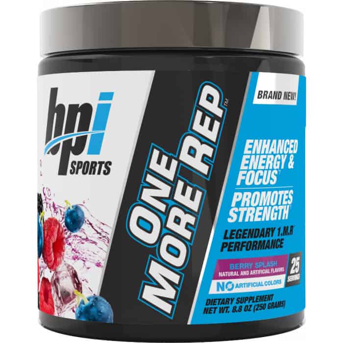 One More Rep by BPI Sports (25 Servings)