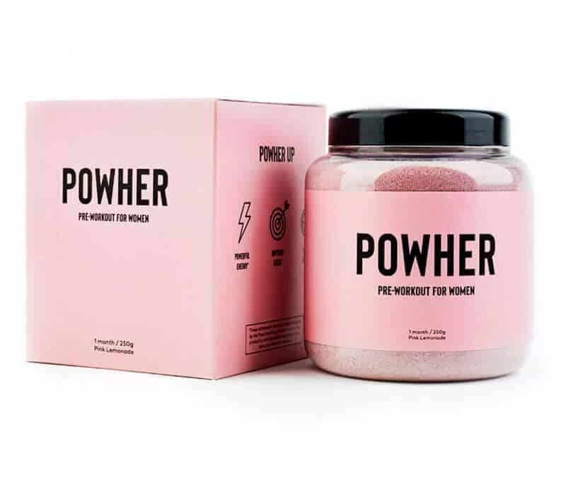 Powher Pre-Workout for Women (25 Servings)